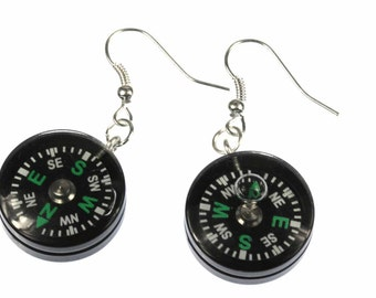 [BUNDLE] Compass earring outdoor mobile navigation