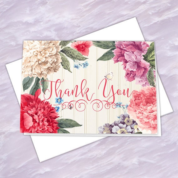 thank you cards, thank you notes, graduation thank you cards, 4x6 notecards, teacher appreciation, NC127
