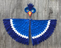 HORNBILL COSTUME // Soft and Flappable! // Mask and wings!
