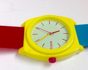 WATCH CLEARANCE EVENT Nixon watch large funky fashion watch