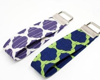 Key Chain / Key Fob / Wristlet - Choose Your Fabric - Merletto Fiesta