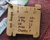 Wooden key ring  WPI gauge