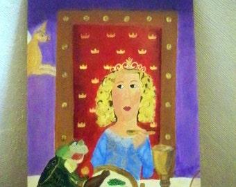 "Princess and the Peas - 24"" x 36"""