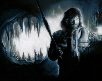 "MacReady's Madness 13""x 19"" Art Print John Carpenter The Thing Classic Horror Movie Monster"