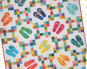 fun in The Sun quilt pattern by Ribbon Candy quilt company