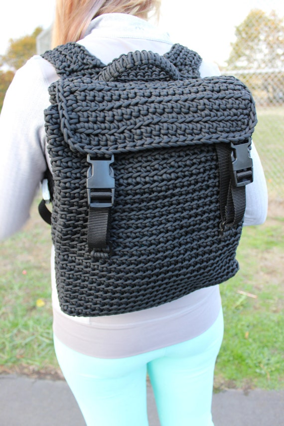 Paracord backpack 550 cord backpack camping gear bike bag for How to make a paracord bag