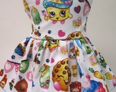 Shopkins Party Sleeveless Dress for your American Girl Doll C