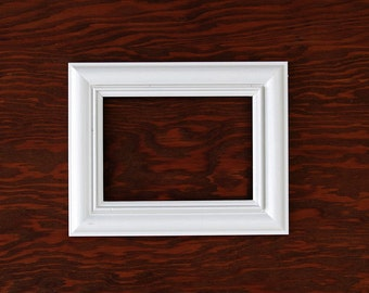 White 5x7 picture frame
