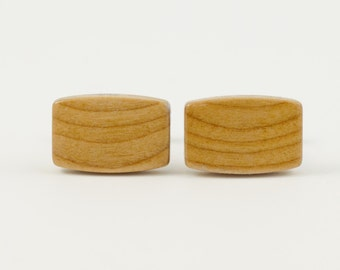 EXOTIC HARDWOOD CUFFLINKS -- Choose Your Own Variety!