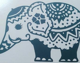 Electric Elephant decal