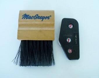 Baseball Umpire Plate Brush MacGregor and Score Keeper