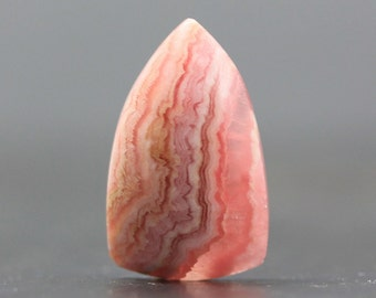 Loose Gemstone Pink Rhodochroiste Natural Gem Cabochon Stone Wire Wrapping Healing Stone, Emotional Aid Joy (CA5892)