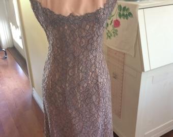 Gorgeous vintage wiggle dress, 8-10