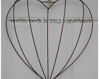 3-D Heart Wire Form