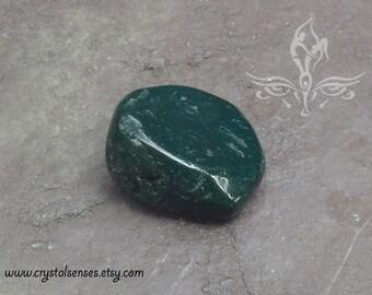 Bloodstone Tumbled Gemstone Crystal - 1 piece Large Size (BLS0046), Blockage, Trauma, Grief, Abundance, Base Chakra
