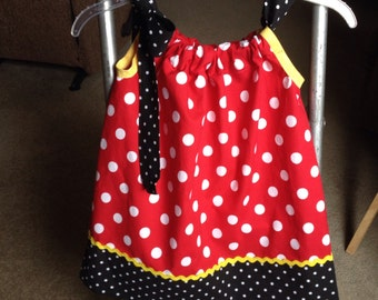 Pillow Case Dress,  Disney inspired sun dress, 0 mos-5 years