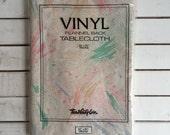 Vintage Pastel Paint Splatter Tablecloth / Vinyl Oblong Outdoor Table Cloth