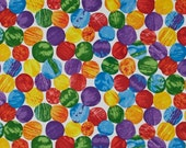 The Very Hungry Caterpillar Abstract GIANT Dots From Andover Fabrics by Eric Carle