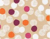Sorbet Medium Dots from Robert Kaufman's Light and Shade Collection by Lisa Tilse