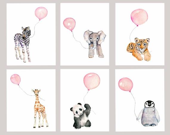 Baby girl nursery girls nursery decor pastel pink nursery for Baby girl nursery paintings