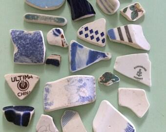 20 + 'Beach Pottery' shards