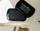Metallic Ink Pad - Full Size ColorBox Pigment Ink Pads - Gold Ink, Silver Ink, Copper Ink, Bronze Ink