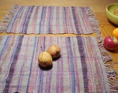 Handwoven Placemats, Multicolor, Set of Two