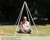 Alexander Golod-inspired Non-metal (PVC) 72-degree Nubian Pyramid