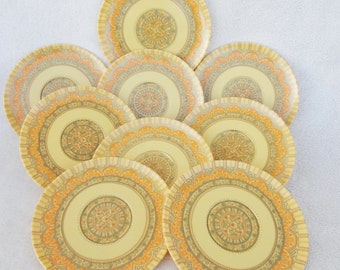 Vintage Laguna Melmac Saucers and Plate