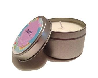 Clarity - 6 oz aromatherapy soy candle