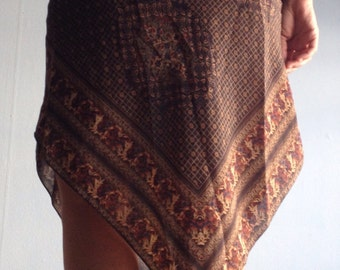 Vintage Halter Dress 70s Size Small