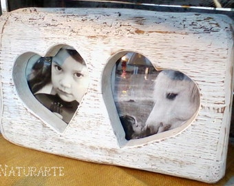 Picture Frame in salvaged wood
