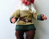 Boy Gnome by Arne Hasle, made in Norway, Vintage Nisse Elf Troll Gnome Goblin, Signed