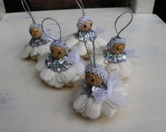 Ornaments,Christmas angels,Handmade angels, Christmas hanging