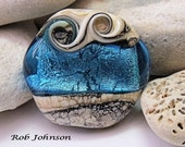 Celtic Magic, Lampwork Focal Bead, SRA, UK