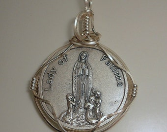 Our Lady of Fatima Medal Pendant