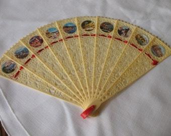 Vintage Fan - Celluloid 1950's
