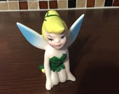 Adorable Tinkerbell fairy figurine, so sweet