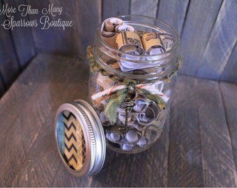 Encouragement Jar Gift   Journey Jar   Key to Life   Inspirational Gift   Daily Encouraging Quotes   Scripture Jar   Verse a Day Collection