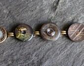 Antique Button Bracelet m...