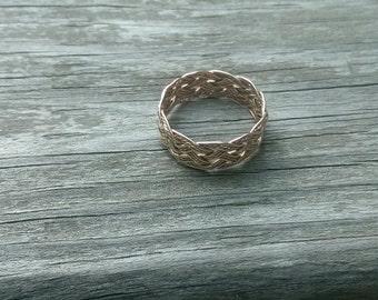 Turks Head Ring 14k