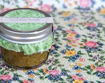 Homemade Zucchini Relish - 4oz