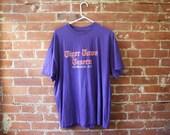 Vintage Purple Tiger Town Tee / Clemson SC / Vintage T-Shirt / Size XL