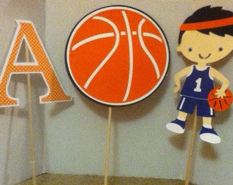 Cute Basketball Centerpiece