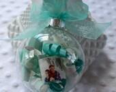 Custom Wedding Invitation Ornament With Box