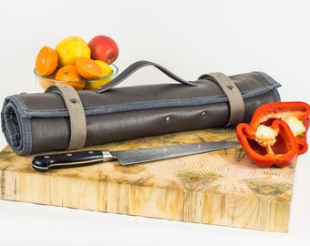 Oui Chef Knife Roll | Smoke