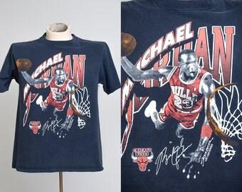 1990 Michael Jordan Chicago Bulls Starter Sportswear T Shirt