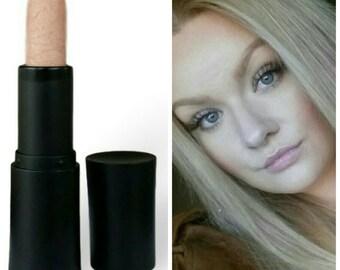 Pale Sheer Pink Lipstick Vegan Paraben-free Cream Formula lips Silvery Pink Vegan Natural  Doll Parts