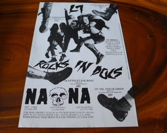 L7 doc martens CLIPPING naona GRUNGE