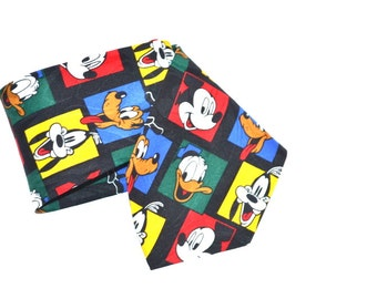 Vintage 80s Mickey Mouse Disney Cartoon Characters  Goofy and Donald Duck Gift for him Dude Stuff Christmas gift